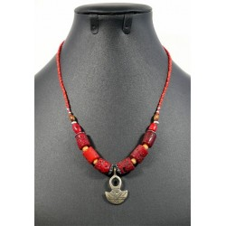 Handcrafted ethnic necklace...