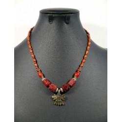 Ethnic handmade necklace 4...