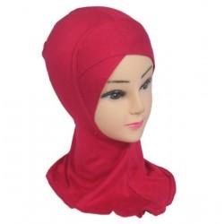 One-piece crossover hijab...