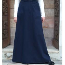 100% cotton pleated skirt -...