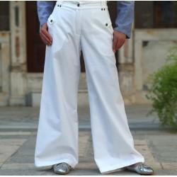 Kalima pants with pockets -...