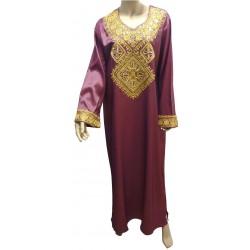 """Chaima"" evening dress with..."