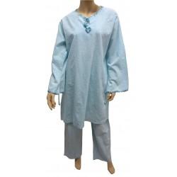 """Sky blue """"Ikram"""" outfit..."""
