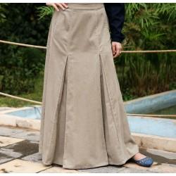 Flared Pleated Skirt -...