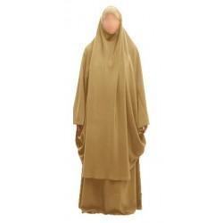 Jilbab Beige (Size L)