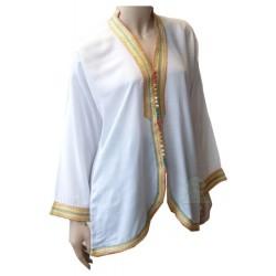 Short white Moroccan tunic...