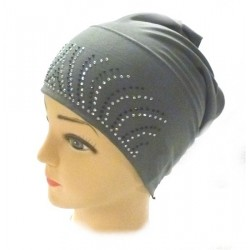 Hijab beanie with sequins