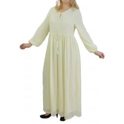Long Dress Color Ecru