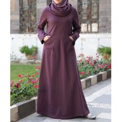 Long dress - Cowl Neck...