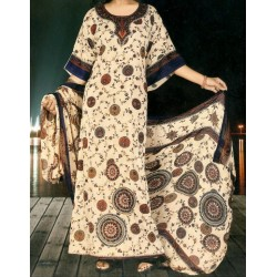 Loose oriental dress with...