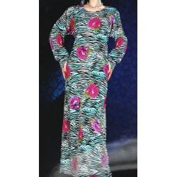 Oriental summer dress with...