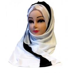 1 piece tube hijab with...