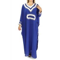 Oriental dress long sleeves...