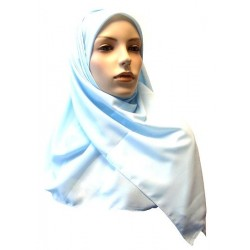 Hijab foulard carré 1m20...