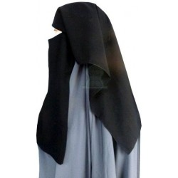 Niqab short 2 pieces with...
