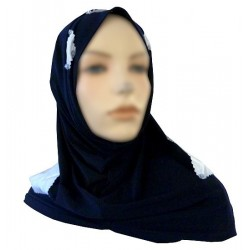 2-piece hijab (tube cups)...