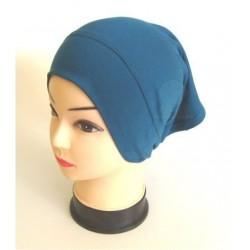 Prussian Blue cotton tube cap