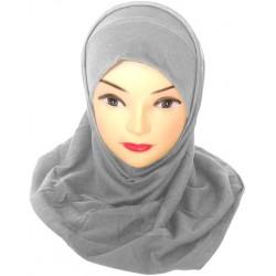 Hijab deux pièces coton...