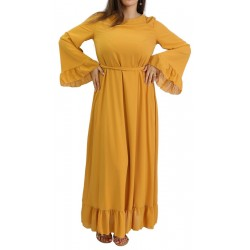 Mustard yellow loose dress...