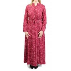 Robe longue couleur...