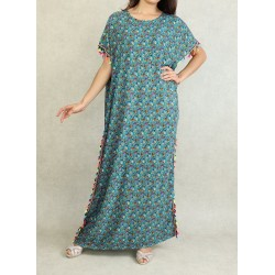 Floral summer dress with...