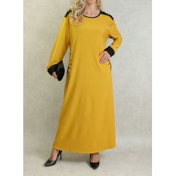 Long-sleeved dress with...