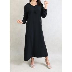 Simple oriental dress long...