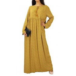 Robe longue et ample avec...