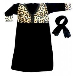 Robe pour fillette noire en...