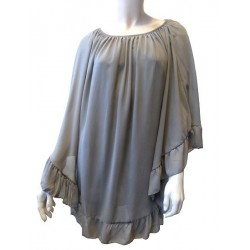 Top taupe pour femme -...