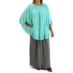 Crochet Bat Ponchos - Green...