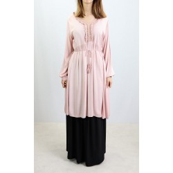 Long bohemian style tunic -...