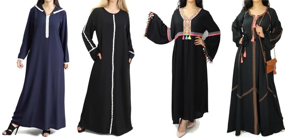 Dresse and Abaya